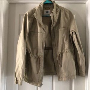 Old Navy twill field jacket medium